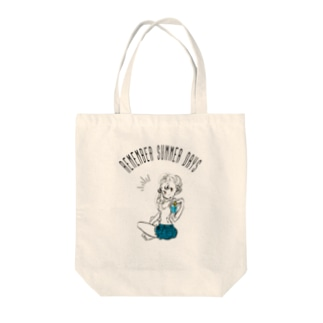 REMEMBER SUMMER DAYS Tote bags