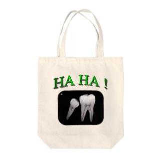 HAHA! Tote bags
