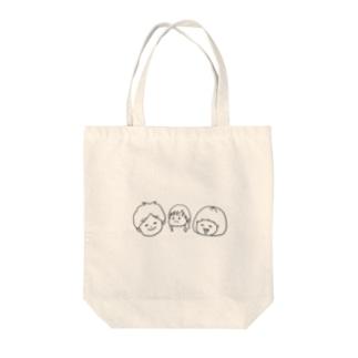 おかっぱ家 Tote bags