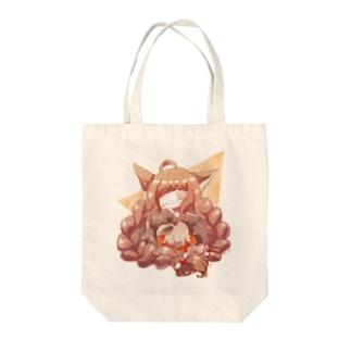稲垣あゆみ×井尻菊花コラボ Tote bags