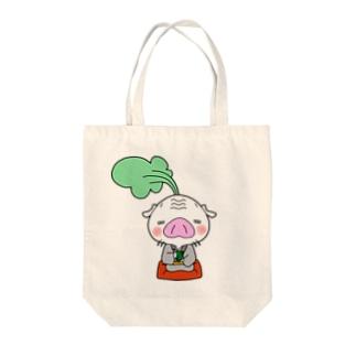 かぶた仙人のひとやすみ Tote bags
