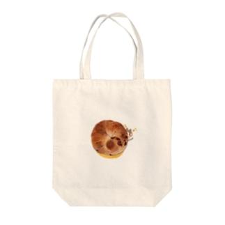 はらぺこにゃんこ② Tote bags