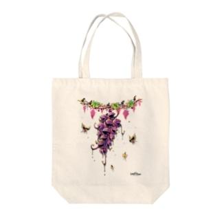 グレイプス Tote bags