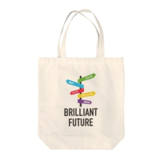 BRILLIANT FUTURE トートバッグ
