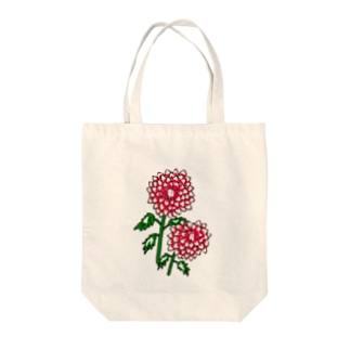ダリヤ Tote bags