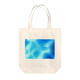 ICE CAVE Tote bags