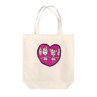 石原美衣果のマウス便器ちゃん Tote bags