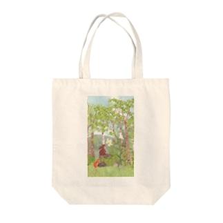 ヤマユリ Tote bags
