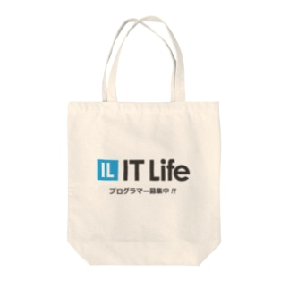 IT Life - プログラマ募集ver Tote bags