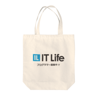 IT LifeのIT Life - プログラマ募集ver Tote bags