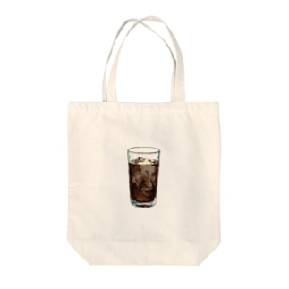 iced coffee(下地なし) Tote bags