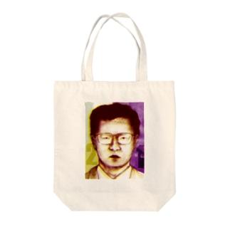 かい人21面相 Tote bags