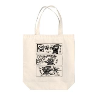 忍者と手裏剣 Tote bags