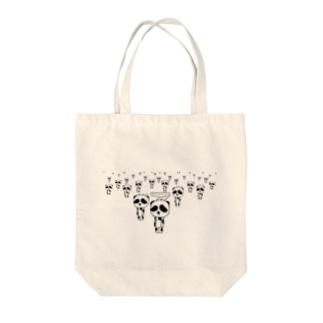 立ち止まりパンダ Tote bags