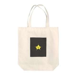 キラキラ光るお星くん Tote bags