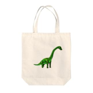 ブラキオサウルス Tote bags