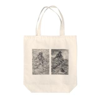 種まく人 Tote bags