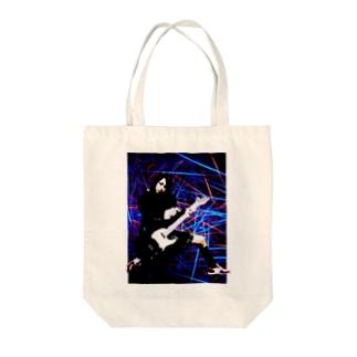 ギターガール010 Tote bags