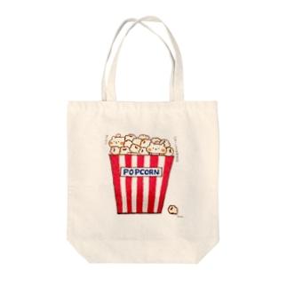 ポップコーン Tote bags