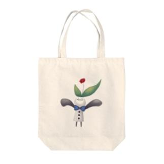 ともだち 花 Tote bags