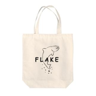 FLAKE Tote bags