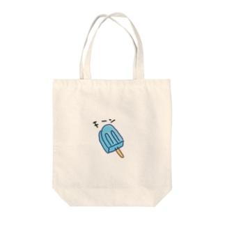 キーンなアイス Tote bags