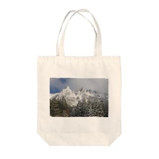 百名山シリーズ(八ヶ岳) Tote bags