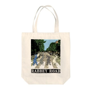 RABBEY ROAD タイトル入A Tote bags
