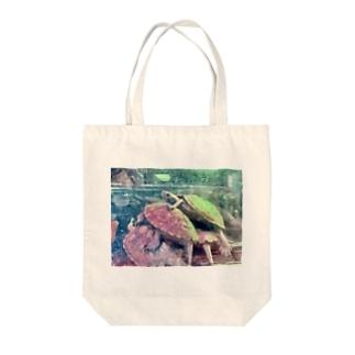ゼニちゃん Tote bags