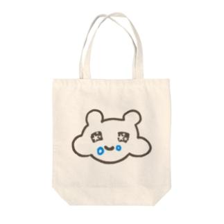 モグモグ✨パンくずマウス Tote bags