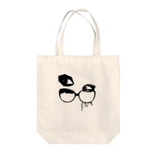 視線 Tote bags