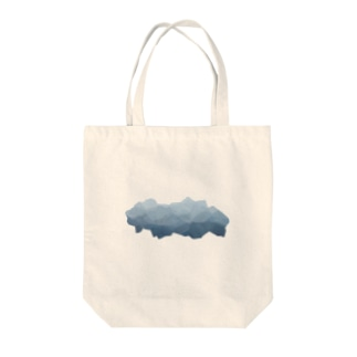 Cloud-BlueGray Tote bags