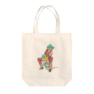 ギャラリー桃胡亭のテキサスクローバーホールド Tote bags