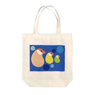 カシューナッツ文鳥 Tote bags