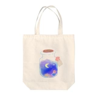 夜空瓶🌙 Tote bags