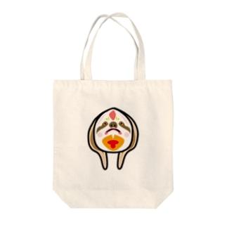 真理のお面【ナマケモノ】 Tote bags