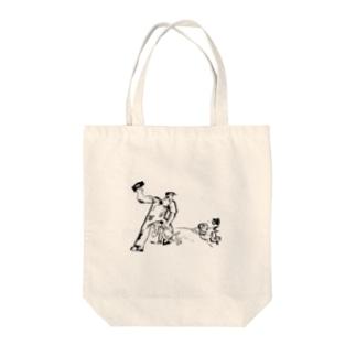 【変電社】プロレタリア漫画カット集「労働者」 Tote bags