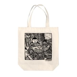 東陽片岡 おこた Tote bags