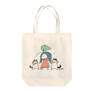 rainy day Tote bags