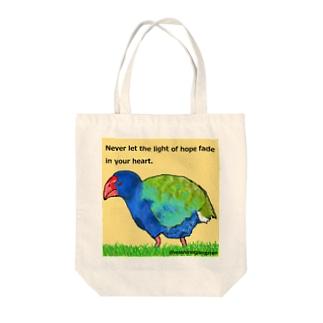 タカヘちゃん希望の光 Tote bags