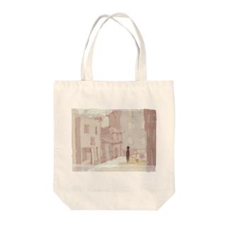 街角の亡霊 Tote bags