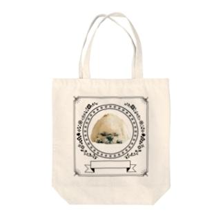お休みデザイン Tote bags