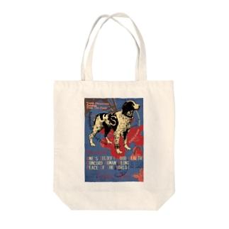ブリタニースパニエル Tote bags