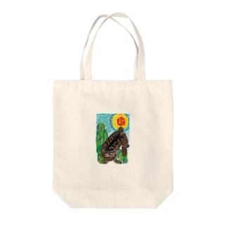 ヴァンゴッホ風ころ Tote bags