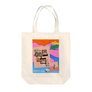 MOMOのレトロなデザイン #01 Tote bags
