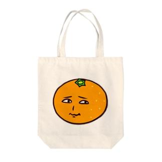 ミカン Tote bags