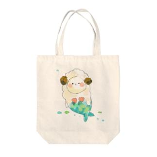 まーめいずー:ひつじさん Tote bags