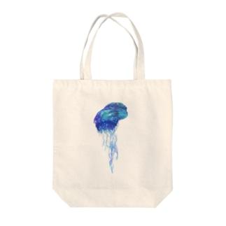 カツオノエボシ Tote bags