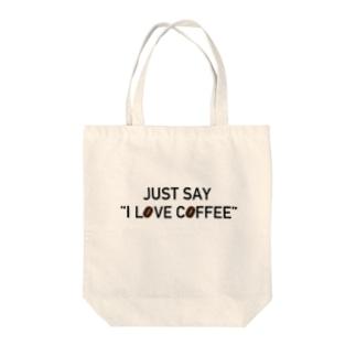 ただ、コーヒーが好きなだけの人 Tote bags