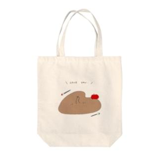 うれしくて溶けちゃう… Tote bags